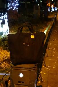 横浜のS様が投稿くださった、difott 2way トートバッグの写真。
