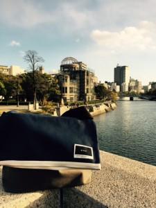 広島のS様が投稿くださった、difottスタンダードバッグの写真